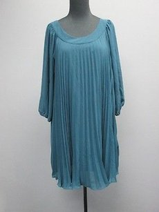 MM Couture short dress bluish green By Miss Me Wide Sleeve Pleated Bb891 on Tradesy