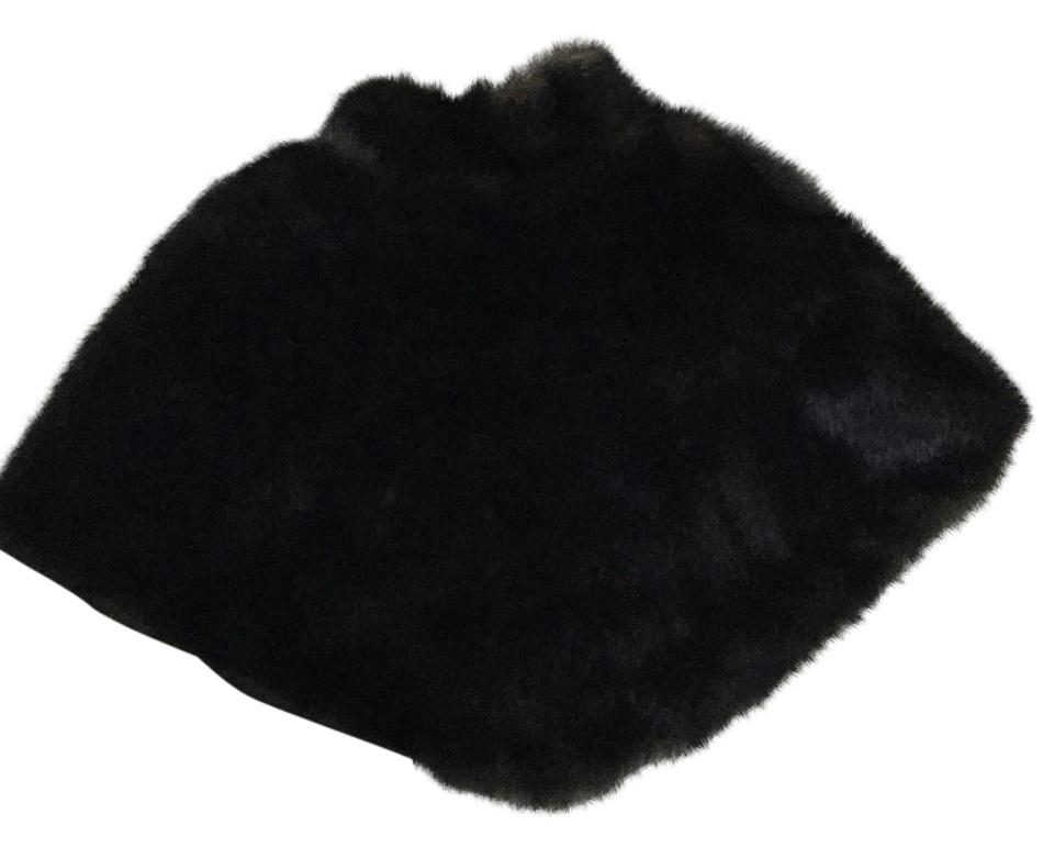 Moda International (Victorias Secret) Faux Fur Mink Cape Poncho