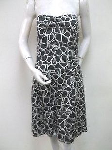 Molly B short dress Black White Floral on Tradesy