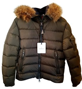 Moncler Down Fur Brand New Green Jacket
