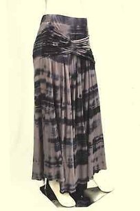 Monrow Multi Tie Dye Shirred Skirt Multi-Color
