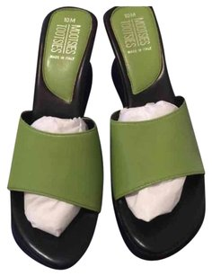 Mootsies Tootsies Lime Green Sandals