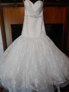 Mori Lee Brand New Madison Collection 4642 Lace Wedding Dress Wedding Dress