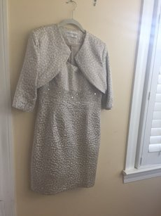 Mori Lee Beige Mob Social Occasions Dress