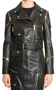 Moschino Moto Leather Leather Vintage Motorcycle Jacket