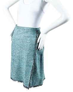 Moschino Cheap And Chic Blue Skirt Blue, Silver