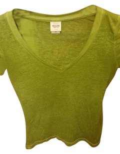 Mossimo Supply Co. T Shirt Bright Green