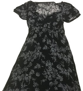 Mossimo Supply Co. short dress Floral blackish grey on Tradesy
