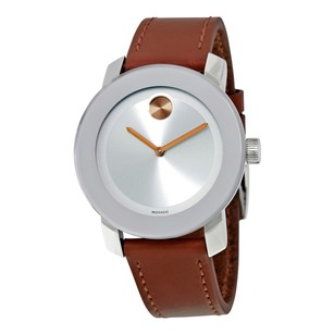Movado Bold Silver Dial Ladies Watch MV3600379