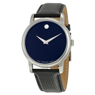 Movado Classic Museum Dark Navy Dial Men's Watch MV2100007