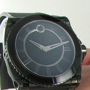 Movado Movado 0606363 Master M03 Automatic Black Rubber Strap 44mm Watch