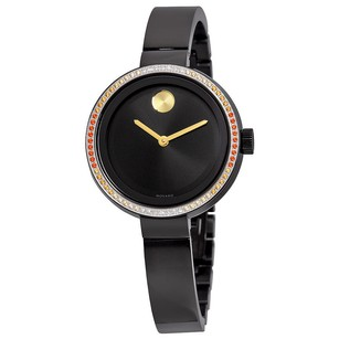 Movado Movado Bold Black Dial Ladies Watch