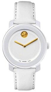Movado Movado Bold Medium White With Gold Unisex Watch