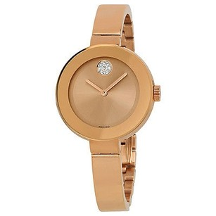 Movado Movado Bold Rose Dial Rose Gold Ion-plated Ladies Watch
