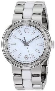 Movado Movado Cerena Stainless Steel Diamond Ladies Watch 606624