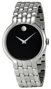 Movado MOVADO Classic Black Dial Stainless Steel Men's Watch MV0606337