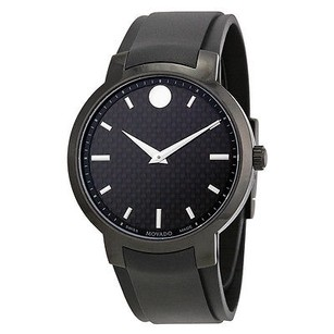 Movado Movado Gravity Black Carbon Fiber Mens Watch