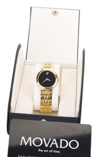 Movado Movado Ladies' Gold Tone Quartz Watch 88 E4 1845
