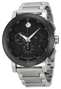 Movado MOVADO Museum Chronograph Grey Dial Stainless Steel Men's Watch MV0606792