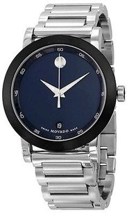 Movado Movado Museum Stainless Steel Mens Watch 0607004
