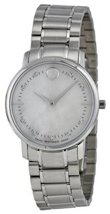 Movado MOVADO TC Diamond Mother of Pearl Dial Stainless Steel Ladies Watch MV0606691