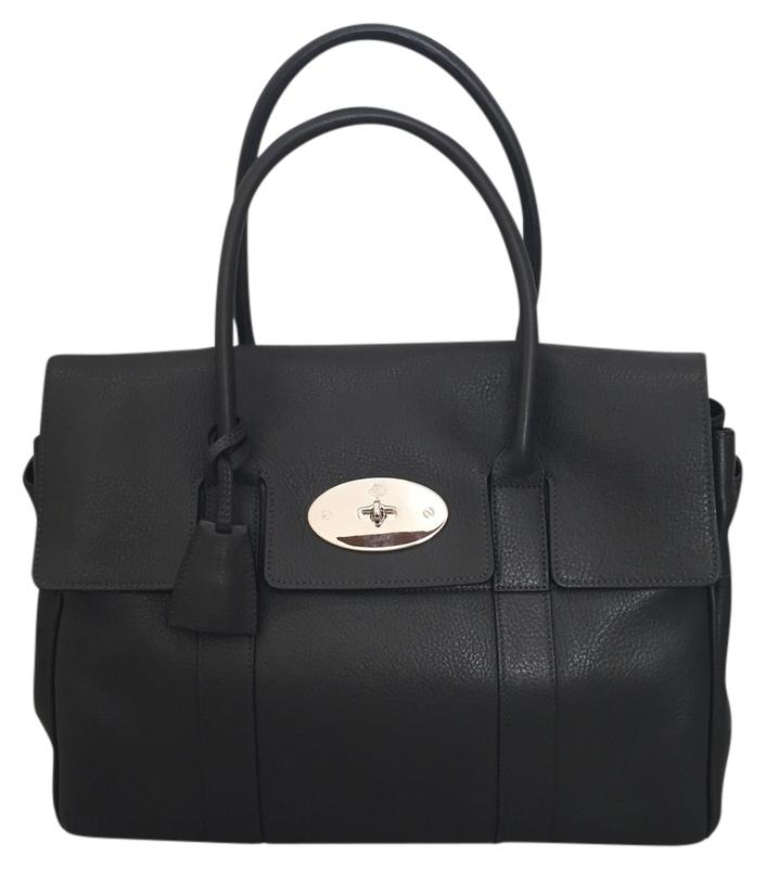 be650b56878c ... leather large bayswater 9dd3a d1995  clearance mulberry satchel in  graphite grey aeccb dda2c