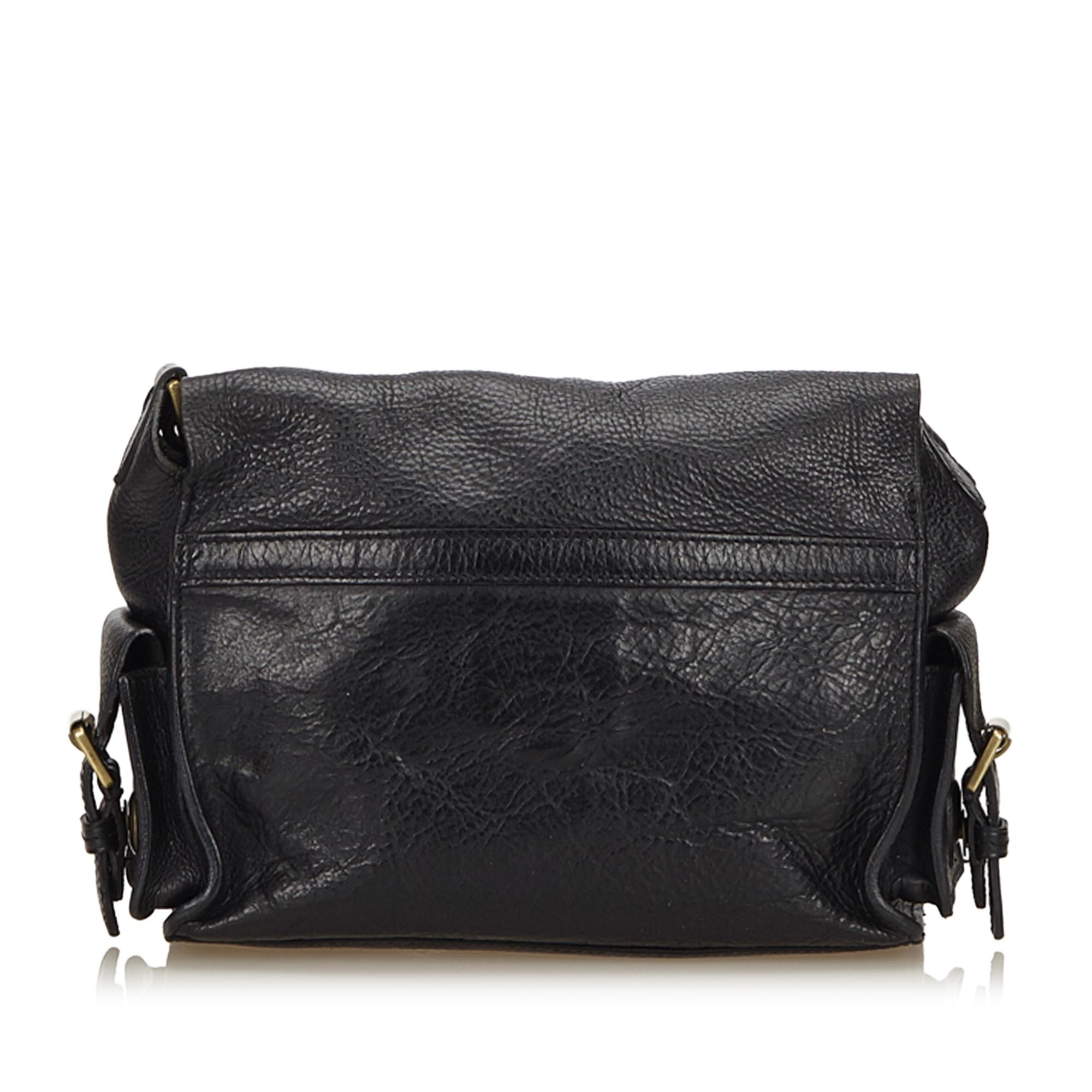 ... buy mulberry chain messenger black leather x others shoulder bag tradesy  48878 a78b6 db4fc7825c6cf
