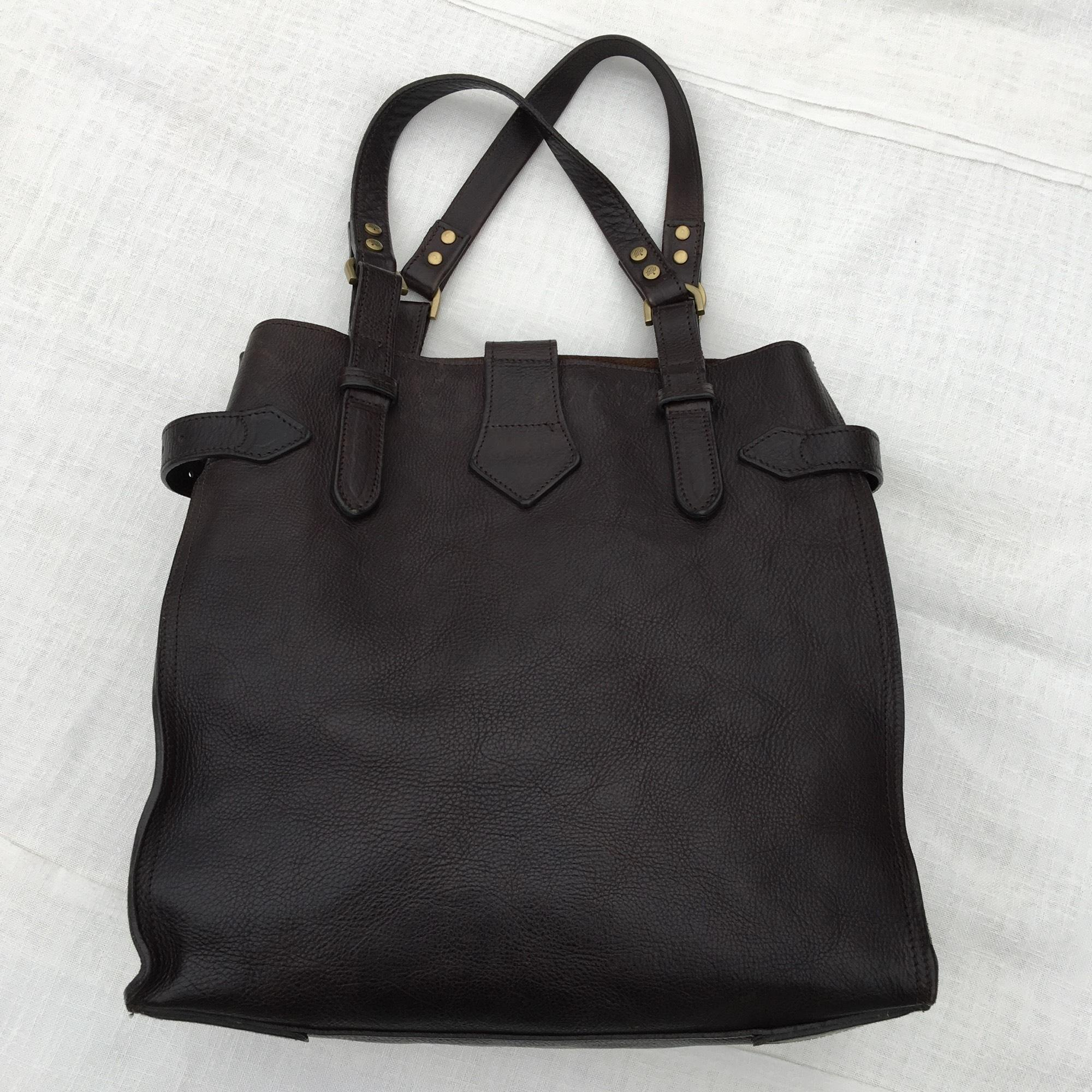 Mulberry Elgin Style Chocolate Brown Tote Bag on Sale, 61% Off ...