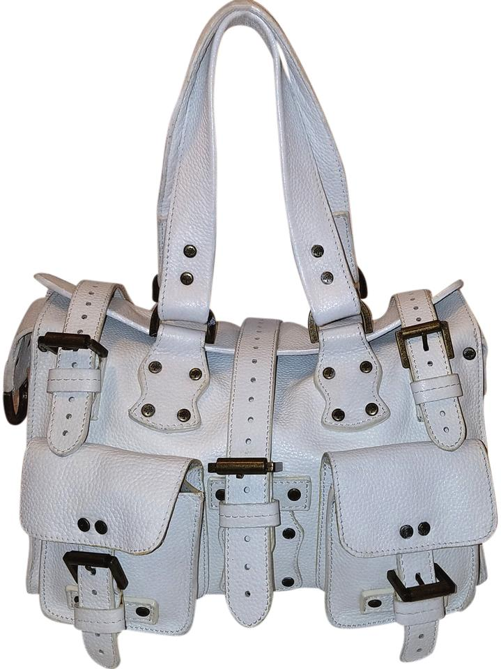 ... best mulberry roxanne leather studded satchel in white b1b7b c9fe1  sweden mulberry antony leather messenger cross body ... a9e9b6a130