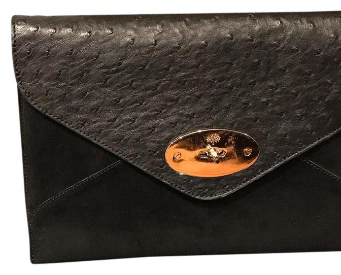 0285df2bc5 greece mulberry kensal shoulder bag leather and ostrich lu8422015913 2ece3  17288  coupon for mulberry classic exclusive black clutch 65837 69b15