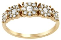 0.50CT DIAMOND 14K ROSE GOLD FLORAL RING SIZE 5-8