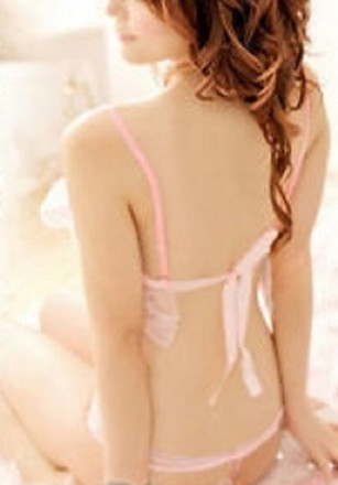 Other BNWOT ~ Lace Baby Doll w/G-String, Pink