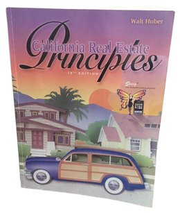 Other California Real Estate Principles 13th Edition - Used Book