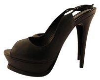 Nando Muzi Womens Black Pumps