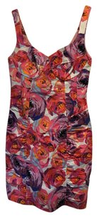 Nanette Lepore short dress Pink Orange Purple on Tradesy