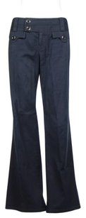 Nanette Lepore Womens Flare Casual Trousers Pants