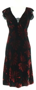 Nanette Lepore Womens Sheath Med Formal Rayon Dress