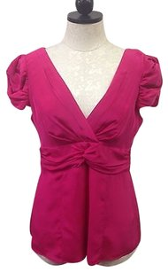 Nanette Lepore Womens Top Pink