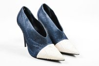 Narciso Rodriguez Navy And Blue Pumps