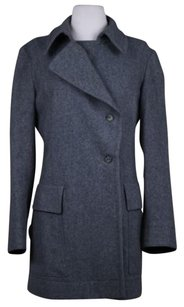 Narciso Rodriguez Womens Med Wool Jacket Outer Pea Coat