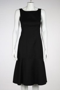 Narciso Rodriguez Womens Sheath Sleeveless Below Knee Career Dress