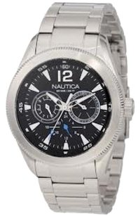 Nautica Nautica Men's N17600G Classic Coin / NCS 650 Watch