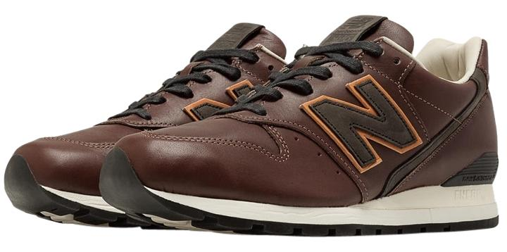 New Balance Casual Leather Brown Athletic