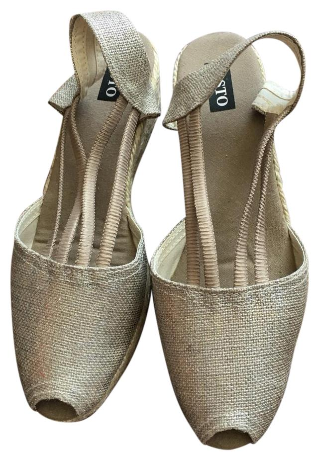New Sesto Meucci wedge espadrilles