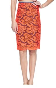 Nicole Miller Skirt Orange