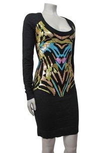 Nicole Miller short dress Black Artelier on Tradesy