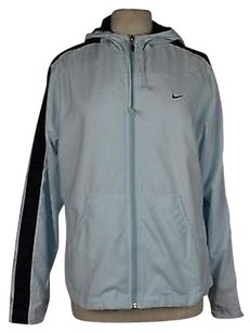 Nike Womens Solid Blue Jacket