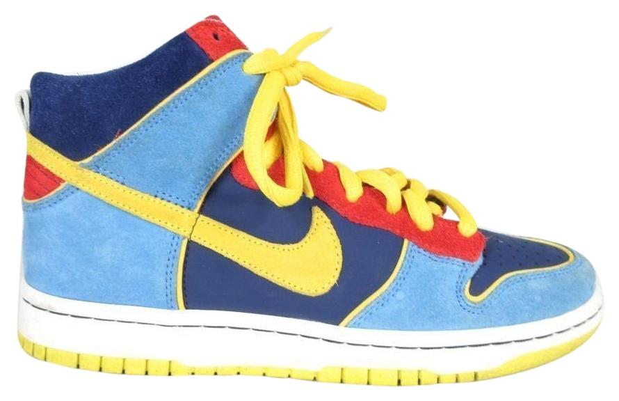 17ed466eb7a5 ... blue white gold post eb92a 4228f uk nike pacman run hightop multi  athletic 635b3 6353f australia image is loading nike dunk high pro sb ...