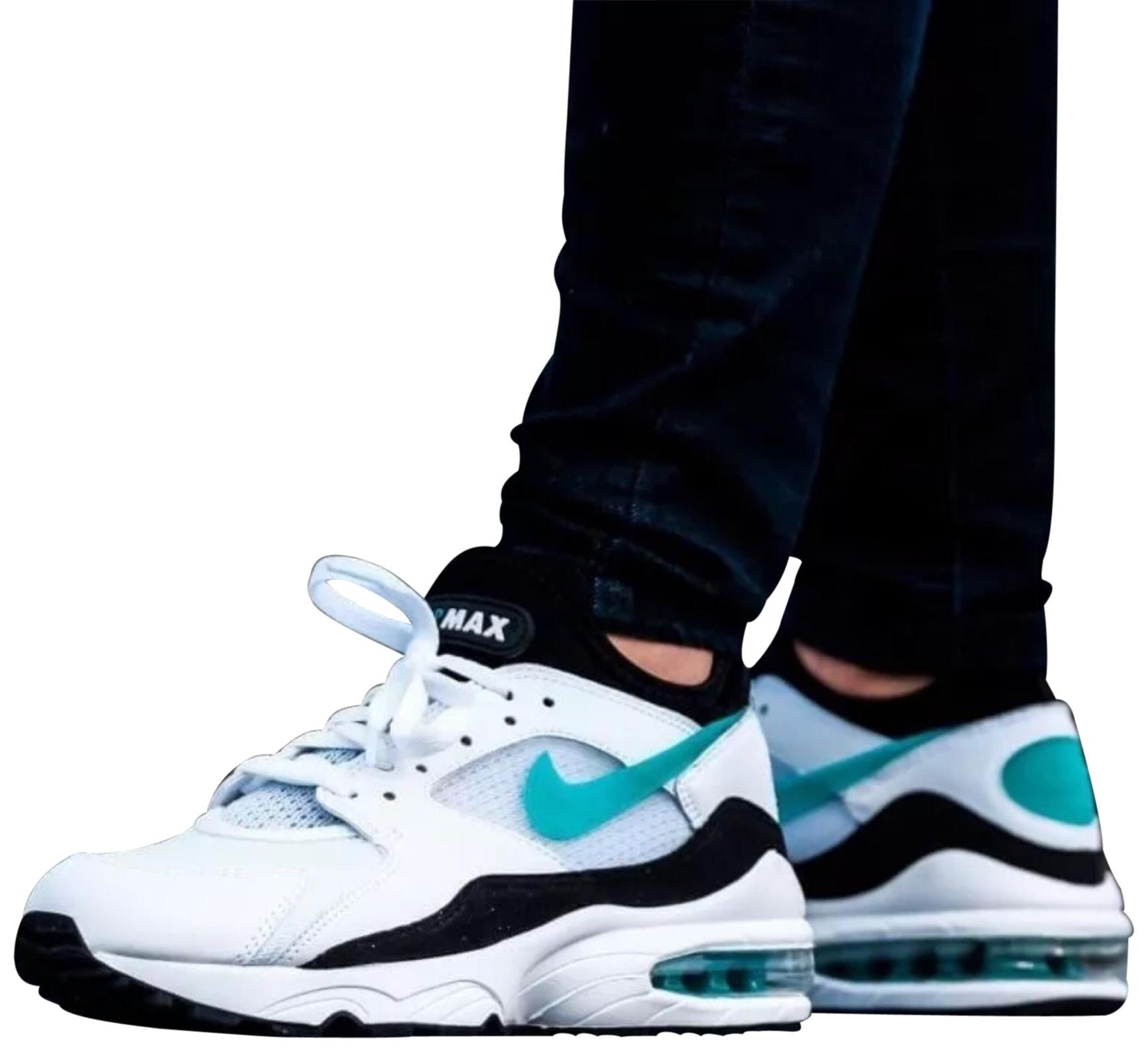Nike Women's Air Max A 93 Sneakers. It Features A Max Combination Upper and The Enlarged Blow Molded Max Air Unit That Marked Sneakers Size US 7.5 Narrow (Aa, N) 5ab608