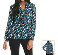 Nine West 10588486 Long Sleeve Top